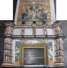 Monumentale cheminée venant d'un immeuble des Chartrons